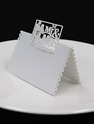 Carta perlata Luogo Card Holders Supporto Borsa plexiglas