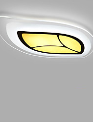cheap -Leaves LED Acrylic The Bedroom Light Stepless Dimming Sitting Room Lights Remote Control Included Length 85cm