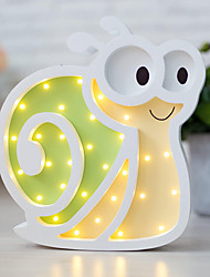 Nordic Style LED Night Light Table Lamp Wall Lamp Wall Decoration LED Ornament Children Room Decoration  Nifty Little Snail Cartoon Lamp