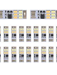 cheap -BRELONG Dimming USB 3W 6x5730 Night Light Touch Switch Touch  Dual Light Color (DC5V) 20pcs
