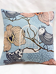 1 pcs Linen Pillow Case Body Pillow Travel Pillow Sofa Cushion,Floral Still Life Graphic PrintsTraditional/Classic Accent/Decorative