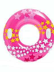 Inflatable Pool Float Donut Pool Float Swim Rings Toys Circular Stars Flourescent Men's Women's Pieces