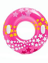 Надувной бассейн Поплавок Поплавок пончик бассейн Плавающие кольца Игрушки Круглый Звезды Флуоресцентный Муж. Жен. Куски