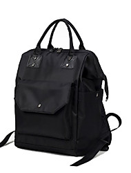 Women Bags All Seasons Nylon Backpack for Shopping Casual Formal Outdoor Office & Career Black