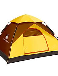 2 persone Tenda Doppio Tenda da campeggio Una camera Tenda automatica Portatile per Campeggio All'aperto CM