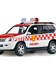 cheap -Pull Back Vehicles Toy Cars Police car Fire Engine Vehicle Toys Duck Car Metal Alloy Metal Pieces Unisex Boys Gift
