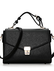 cheap -Women's Bags PU Shoulder Bag for Event / Party / Formal / Outdoor Black / Red / Blushing Pink