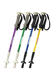 3 Walking Poles Trekking Poles Nordic Walking Poles 125cm (49 Inches) Damping Fastness Durable Antiskid Adjustable Length Telescopic
