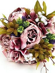 economico -Bouquet sposa Bouquet Forniture per decorazioni nuziali Occasioni speciali Party /serata Raso 25 cm ca.