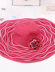Women 's Summer Sun Anti-UV Sunscreen Foldable Flowers Lotus Leaf Beach Hat