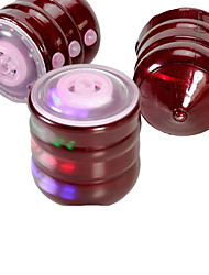 LED Lighting Fitness Toys Light Up Toys Toys Cylindrical Gyroscope Boys' Pieces