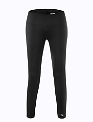Women's Running Pants Quick Dry Tights Bottoms for Yoga Exercise & Fitness Running Terylene Tight Black Orange Light Grey Blue XS S M L XL