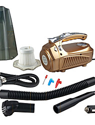 Newest Portable Car Vacuum Cleaner 12V 4 IN 1 High-Power Wet & Dry Dual-use Super Suction Dust Buster With Inflatable Pump