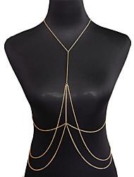 Недорогие -Цепь Тела / Belly Chain Богемные, Мода Жен. Золотой Украшения для тела Назначение Для вечеринок / Особые случаи / Годовщина