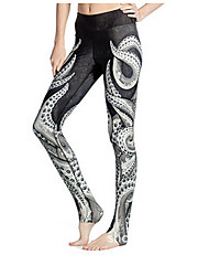 cheap -Women's Running Pants Sports Leggings Yoga, Fitness, Gym Activewear Breathable Stretchy