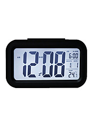 cheap -Casual / Traditional / Office / Business Plastics Indoor / Outdoor,AA Tabletop Clock / Alarm Clocks