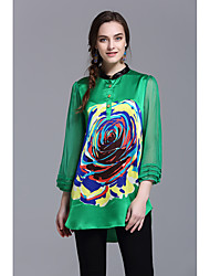 JOJO HANS Gender Occasion Style Season Tops TypePattern Neckline Sleeve Length Color Fabric Thickness