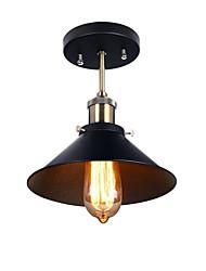 Modern Industrial Mini Edison Ceiling Light 1-Light Vintage style Flush Mount Light