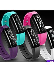 Bracelet intelligent mesure imperméable à l'eau chronomètre du rythme cardiaque android apple bluetooth sports montre homme et femme