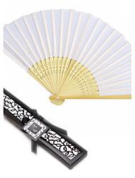 Beter Gifts® Silk Hand Fan in Black Box
