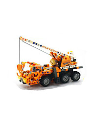 cheap -Building Blocks Educational Toy Pull Back Vehicles For Gift  Building Blocks Model & Building Toy Excavating Machinery5 to 7 Years 8 to