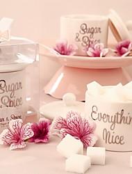 1 Pezzo/Set Porta-bomboniera-Cilindro CeramicaBomboniere scatole Bomboniere borse Bomboniere secchielli Confezioni per biscotti Coni