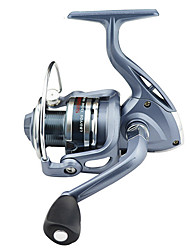 SHISHAMO BASIC 4000 5.5:1, 6 Ball Bearings Spinning Fishing Reel, Right & Left Hand Exchangable