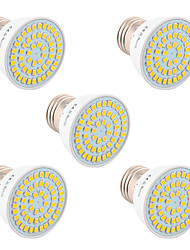 abordables -YWXLIGHT® 5pcs 5W 400-500lm GU10 GU5.3(MR16) E26 / E27 Focos LED 54 Cuentas LED SMD 2835 Decorativa Blanco Cálido Blanco Fresco Blanco