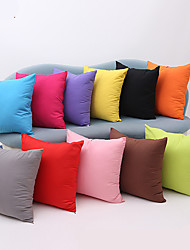 cheap -1 pcs Cotton Pillow Case, Solid Traditional/Classic Modern/Contemporary