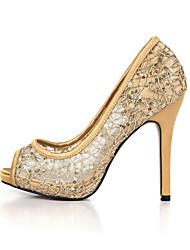 abordables -Talons féminins chaussures de club d'été wedding wedding party&Robe de soirée