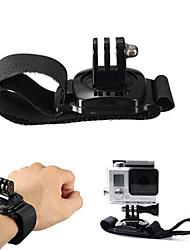 economico -Fasce a strappo da mano Regolabili Conveniente Per Videocamera sportiva Tutti Xiaomi Camera SJCAM SJ4000 SJ5000 SJ6000 Universali Nylon