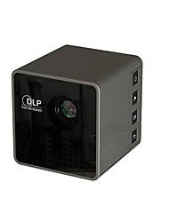 cheap -UNIC DLP Mini Projector 30 lm Support 1080P (1920x1080) 4:3 inch Screen