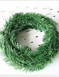 cheap -216 Inch Artificial Leaf Fake Vine Simulation Flower Foliage Green Leaves Rattan Wreath Decorative Home Wall Garden Party Decor