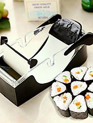 1 Pças. Bolas de arroz Utensílio para Sushi For Para utensílios de cozinha para o arroz Metal PlásticoAlta qualidade Multifunções Gadget