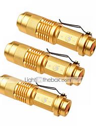preiswerte -U'King LED Taschenlampen LED 1500 lm 3 Modus Cree XP-E R2 Zoomable- einstellbarer Fokus Camping / Wandern / Erkundungen Für den täglichen