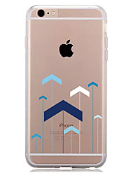 abordables -Funda Para Apple iPhone 7 Plus iPhone 7 Transparente Diseños Funda Trasera Diseño Geométrico Suave TPU para iPhone 7 Plus iPhone 7 iPhone