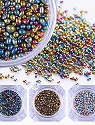 abordables -1box Bijoux pour ongles Manucure Manucure pédicure Quotidien Glitters / Néon et lumineux / Mode / Bijoux à ongles / Pierre