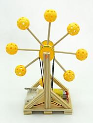 Недорогие -Наборы для моделирования Игрушки для изучения и экспериментов Обучающая игрушка Игрушки Цилиндрическая Ударная установка Колесо обозрения