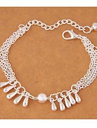 cheap -Charm Bracelet Alloy Water Droplets Fashion Women's Jewelry 1pc