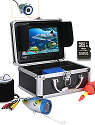 abordables -mountainone® 30m 7 '' color digital lcd 1000tvl hd dvr grabadora cámara de pesca submarina a prueba de agua