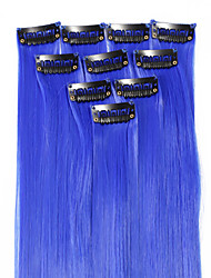 cheap -18 inch Synthetic Hair Hair Extension Classic Clip In Daily High Quality Women's