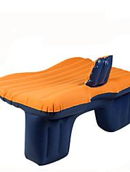 abordables -Colchón de coches Doble(cm)Oxford Impermeable Portable Para Niños Cómodo Inflable defensa equipamiento de seguridad