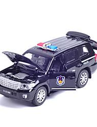 Veicoli a molla Macchine giocattolo Ruspa Auto della polizia Giocattoli Anatra Auto Lega di metallo Pezzi Unisex Maschio Regalo