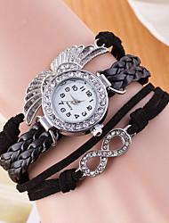 Women's Sport Watch Dress Watch Fashion Watch Wrist watch Chinese Quartz Imitation Diamond Genuine Leather Band Charm Creative Casual
