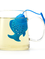 cheap -The Silicone Fish Make Tea Fashion Articles For Daily Use Creative Color Random