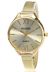 cheap -XU Ladies' Quartz Alloy Mesh Belt Contracted Thin Strap Dress Watch