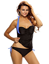 Women's Halter Neck Tankini Swimsuit