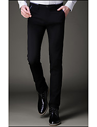 cheap -Men's Business Pants - Solid, Modern Style