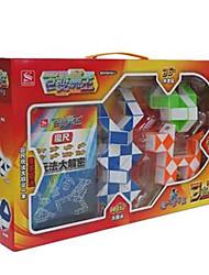 Недорогие -Волшебный куб IQ куб Змейка Спидкуб Кубики-головоломки головоломка Куб Гладкий стикер Веселье Классика Детские Игрушки Универсальные Подарок