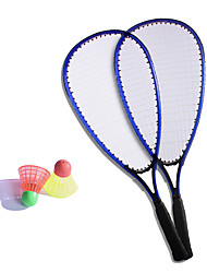 Racchette da badminton Volani piuma Non deformabile Elevata elasticità Durevole Fibra di carbonio 1 pezzo per All'aperto Tempo libero